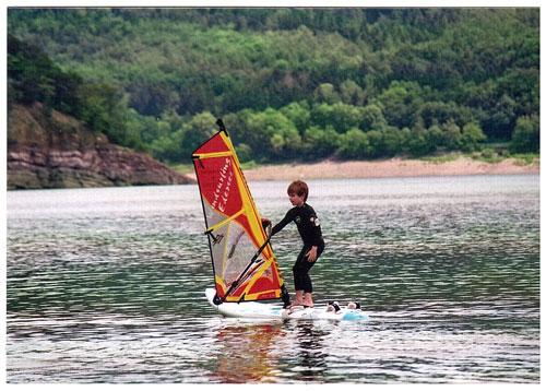 Windsurfen fuer Kinder